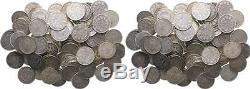 1/2 Mark Kursmünzen Lot 100 Stück! J. 16 1905 1919 Anlegerposten Silber