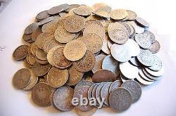 1 Mark Kursmünzen J. 9/17 1873 1915 1 Mark Lot 100 Stück Anlegerposten Silber