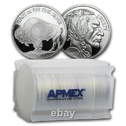 1 oz Silver Round Buffalo (Mint Mark SI) Lot of 20