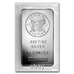 10 oz Silver Bar Sunshine (MintMark SI) SKU #72281