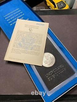 1885 CC Morgan Silver Dollar GSA Box COA VAM-3 Mintmark Tilted Left S$1