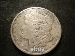 1895 O or S VF Details Morgan Silver Dollar Removed Mint Mark T2X-#2