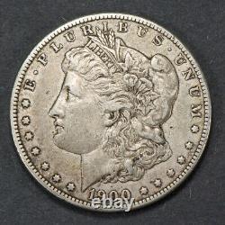 1900-o/cc $1 Morgan Silver Dollar Omm Error Over Mint Mark, Nice Xf+ Coin #n798