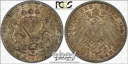1904-j 2 Mark Bremen Germany Pcgs Ms63 #32802373 Mint State Eye Appeal