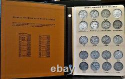 1916-1947 Complete Set Date & Mint Mark WALKING LIBERTY HALF DOLLARS