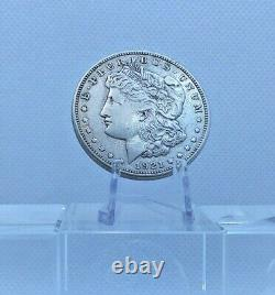 1921 $1 Morgan Silver Dollar American aUNC Liberty Head D Mintmark Coin