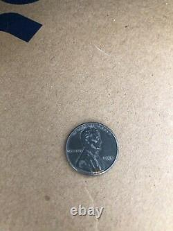1943 Silver Steel Lincoln Wheat Penny Cent No Mint Mark