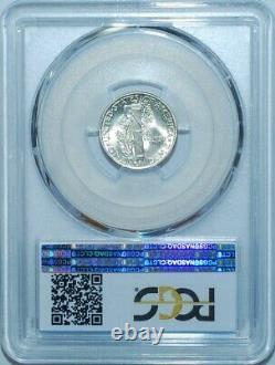 1944 D/D PCGS MS66FB FS-501 RPM Repunched Mint Mark Full Bands Mercury Dime