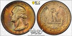1952-S PCGS MS67+ FS-501 Repunched Mintmark Washington Quarter CAC POP 3 / 0