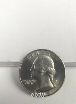 1965 Quarter No Mint Mark, Date is very low on Coin ungraded