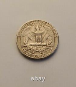 1965 Quarter No Mint Mark, Ungraded