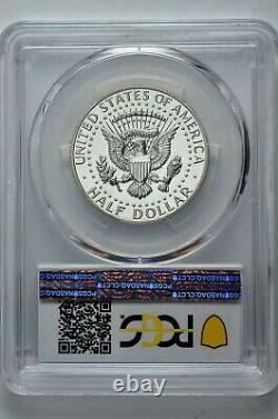 1968 S 50c Proof Kennedy Half Dollar PCGS PR 65 Inverted Mintmark FS-511