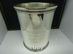1984 Mark J. Scearce Sterling Silver Keeneland RWR Reagan Mint Julep Cup, Rare