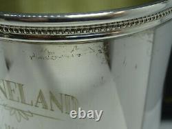 1984 Mark J. Scearce Sterling Silver Keeneland RWR THE HURRICANE Mint Julep Cup