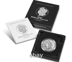 1x 2021 Morgan Silver Dollar with (D) Mint Mark Confirmed PRE SALE