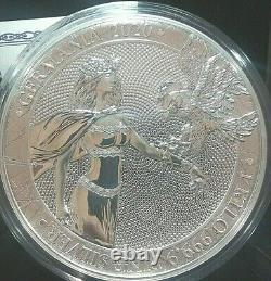 2020 1 Kilo Silver 80 Mark GERMANIA Coin 100 Mint