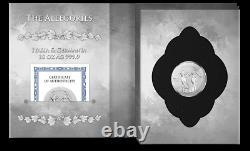 2020 Germania Mint 50 Mark Allegories Italia & Germania 10 oz 9999 Silver Coin