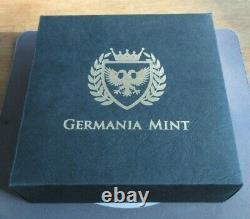 2020 Germania Mint. 999 Silver BUnc 1 KILO 80 MARKS Coin with Box&COA