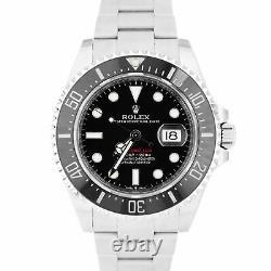 2020 MINT Rolex Red Sea-Dweller 43mm Mark II 50th-Anniversary Steel 126600 Watch