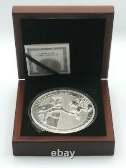 2020 Silver Kilo 80 Mark GERMANIA Coin Lady Germania (#29 of only 100 mint)