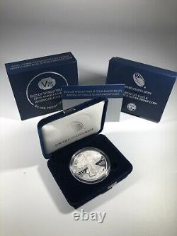 2020 W Proof American Silver Eagle V75 Privy Mark Mint Packaging
