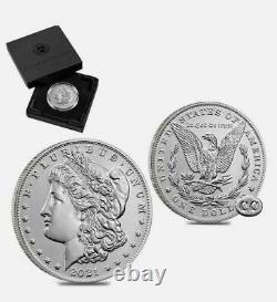 2021 4-Morgan Silver Dollars. Both Mint Marks 2xO & 2xCC