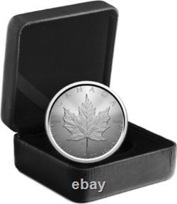 2021 CANADA $5 W Winnipeg Mint Mark Silver Maple Leaf 1oz Pure Silver Coin SML