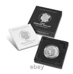 2021 MORGAN SILVER DOLLAR WITH D MINT MARK CONFIRMED ORDER Ships In October