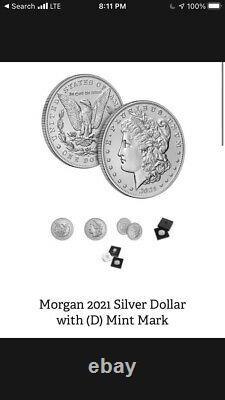 2021 Morgan Dollar Set D & S Mint Mark PreOrder Confirmed