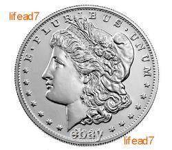 2021 Morgan Silver Dollar D Mint Mark COA PRESALE SHIPS OCTOBER 100th Anv