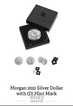 2021 Morgan Silver Dollar (D) Mint Mark CONFIRMED ORDER Ships in October