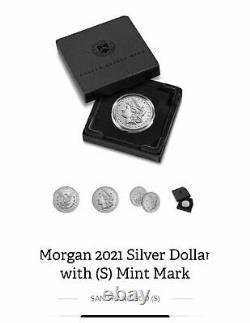 2021 Morgan Silver Dollar D and S Mint Mark SIX (6) Coins Presale Confirmed