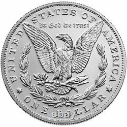 2021-Morgan Silver Dollar Philadelphia No Mint Mark COA/OGP PRESALE SHIP OCTOBER