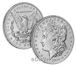 2021 Morgan Silver Dollar With CC Privy Mark Confirmed Order With Us Mint