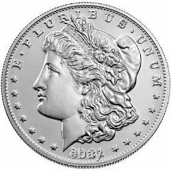 2021-Morgan Silver Dollar With S Mint Mark COA/OGP PRESALE SHIPS OCTOBER