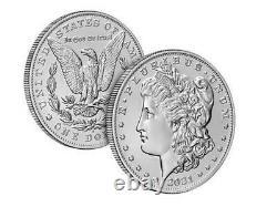 2021 Morgan Silver Dollar (d) Mint Mark 100th Anniversary Confirmed Order 21xg