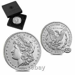 2021 Morgan Silver Dollar with CC Privy Mark (Presale) Confirmed Order US Mint