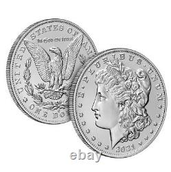 2021 Morgan Silver Dollar with S Mint Mark Confirmed Order PRE-SALE Ships-Oct
