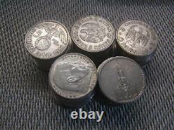 50 x 5 Reichsmark Silber 695 g lot Investorenpaket With21/425