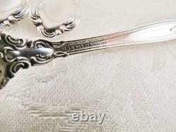6 Gorham CHANTILLY Sterling Silver Fish Salad Forks 5.75 Old Mark No Mono MINT