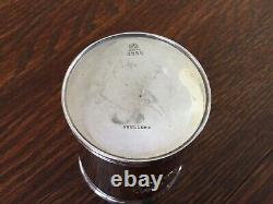Antique Sterling Silver Mint Julep Derby Cup Marked Frank Smith Silver