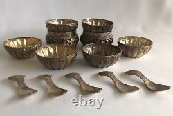 Brunei Malay Lot Of Silver Wares circa 1900 Brunei Makers Mark Total 198g