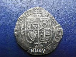 Charles I Silver Shilling 1641-43 mintmark triangle in circle