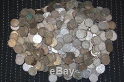 Drittes Reich Lot 500 Münzen zu 2 Reichsmark Hindenburg verschieden