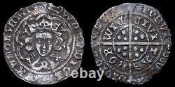 Edward IV, 1461-70. Groat, Norwich Mint. Mint Mark Sun. Quatrefoils At Neck
