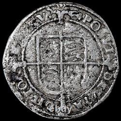Edward VI In The Name Of Henry VIII, 1547-51. Groat, Mint Mark Grapple, 1549