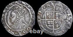 Elizabeth I, 1558-1603. Hammered Penny, Second Issue. Mint Mark Martlet, 1560-1