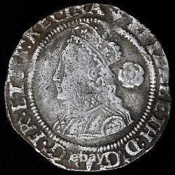 Elizabeth I, 1558-1603. Hammered Threepence, 1565. Mint Mark Phoen. Scarce