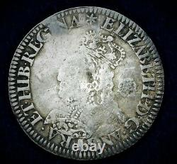 Elizabeth I 1st 1562 milled sixpence mint mark star pellet border S2598