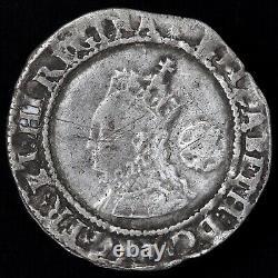 Elizabeth I. Hammered Sixpence, 1573. Mint Mark Ermine